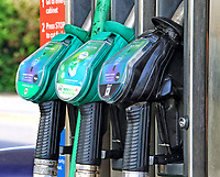 Petrol prices in the UK have fallen below £1 per litre for the first time since 2016.<br /> <br /> The global oil market crash triggered by the coronavirus lockdown has seen the crude oil price plummet to a near 20 year low.<br /> <br /> Now, led by UK Supermarketchains, Unleaded petrol is now on sale at below £1 per litre nationally and 99.9p, 99.7p and with regional variations as low as 98.7p per litre. May 16th 2020<br /> <br /> Photo by Keith Mayhew
