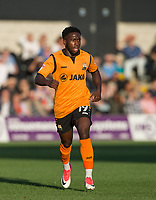 Fumnaya Shomotun of Barnet during the 2017/18 Pre Season Friendly match between Barnet and Swansea City at The Hive, London, England on 12 July 2017. Photo by Andy Rowland.