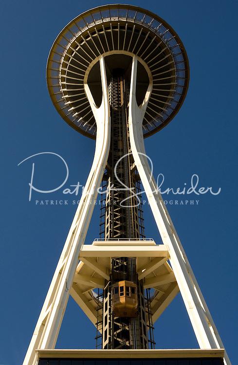 The Space Needle in Seattle Washington.