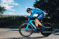 6th October 2021 Womens Cycling Tour, Stage 3. Individual Time Trial; Atherstone to Atherstone. Aude Biannic.