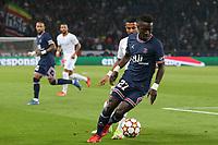28th September 2021, Parc des Princes, Paris, France: Champions league football, Paris-Saint-Germain versus Manchester City:  Idrissa Gueye (PSG)