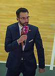 13.11.2020, RASTA Dome, Vechta, GER, easy Credit-BBL, RASTA Vechta vs s. Oliver Würzburg, im Bild<br /> Interview beim TV-Sender Thomas PÄCH / PAECH (Rasta Vechta #Headcoach #Coach )<br /> Foto © nordphoto / Rojahn