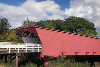 Hogback Bridge, built in 1884, Madison County, Iowa