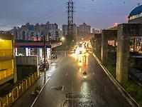 SAO PAULO,SP, 09.03.2019 - TRANSITO-SP - Transito e muita chuva na Avenida Junta Provisorias sentido centro a partir do bairro Ipiranga na região sul da cidade de Sao Paulo neste sábado, 09.(Foto: William Volcov/ Brazil Photo Press)