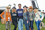 Fans in action before the NASCAR AAA Texas 500 race at Texas Motor Speedway in Fort Worth,Texas.