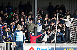 Ayr United v St Johnstone…..08.02.20   Somerset Park   Scottish Cup 5th Round<br />St Johnstone fans support their team<br />Picture by Graeme Hart.<br />Copyright Perthshire Picture Agency<br />Tel: 01738 623350  Mobile: 07990 594431