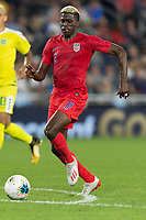 SAINT PAUL, MN - JUNE 18: Gyasi Zardes of the United States during a 2019 CONCACAF Gold Cup group D match between the United States and Guyana on June 18, 2019 at Allianz Field in Saint Paul, Minnesota.
