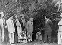 Iraq 1953.Visit to Kirkuk of king Faycal II, meeting with Kakai personalities  Irak 1953<br /> Pendant sa visite a Kirkouk, le roi Faycal II reçoit des personnalités Kakai