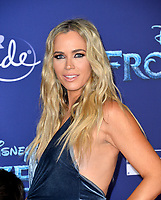 """LOS ANGELES, USA. November 08, 2019: Teddi Mellencamp at the world premiere for Disney's """"Frozen 2"""" at the Dolby Theatre.<br /> Picture: Paul Smith/Featureflash"""