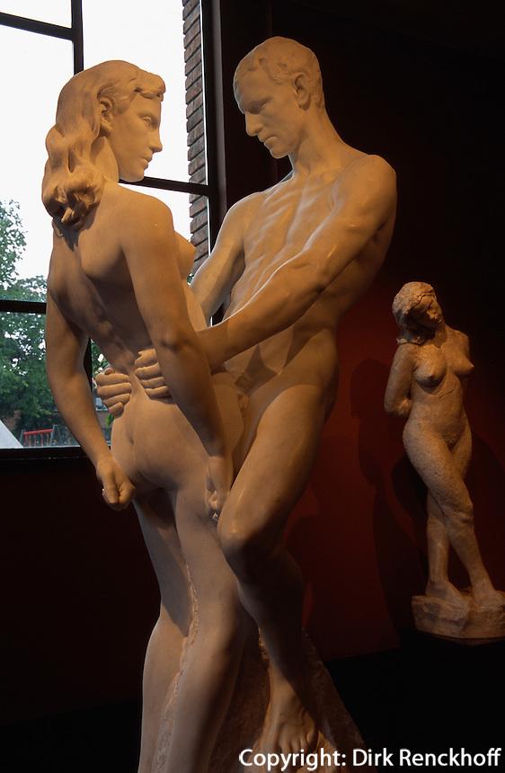 Skulptur von Gustav Vigeland 1869-1943 im Vigeland-museet, Oslo, Norwegen