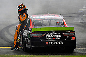 #19: Martin Truex Jr., Joe Gibbs Racing, Toyota Camry Bass Pro Shops, wins the Federated Auto 400.