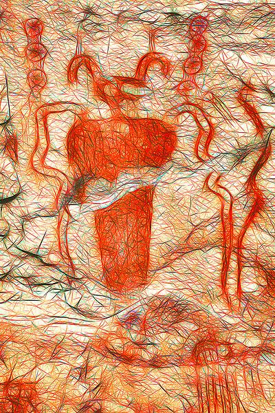 Sego Canyon Horned Figure