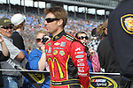 Sprint Cup Series driver Jamie McMurray (1) in action before the NASCAR Sprint Cup Series AAA 500 race at Texas Motor Speedway in Fort Worth,Texas.