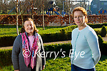 Eileen McCarthy with her mom Eileen as they launch their Chernobyl fundraiser