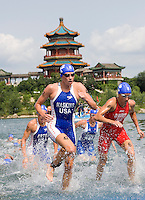 Beijing Olympics 2008 Women's and Men's  Triathlons - 18th and 19th August 2008