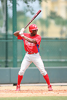 August 12, 2008: Anthony Hewitt of the GCL Phillies.  Photo by: Chris Proctor/Four Seam Images