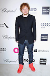 Ed Sheeran attends the 2014 Elton John AIDS Foundation Academy Awards Viewing Party in West Hollyood, California on March 02,2014                                                                               © 2014 Hollywood Press Agency