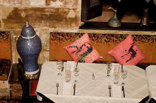 Table Setting, 404 Restaurant, Paris, France, Europe