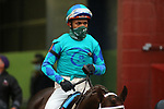 February 6, 2021: Jockey Ricardo Santana Jr. aboard during the King Cotton Stakes at Oaklawn Racing Casino Resort in Hot Springs, Arkansas on February 6, 2021. Justin Manning/Eclipse Sportswire/CSM