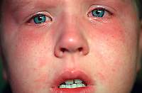 Young boy distressed after falling and injuring himself..©shoutpictures.com..john@shoutpictures.com