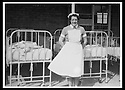 09/10/2009  Collect  Pic : James Stewart.sct_jspa_06_lily_burns  . :: COLLECT PIC OF FORMER ROYAL SCOTTISH NATIONAL HOSPITAL (RSNH) NURSE, LILY BURNS (CIRCA 1960). MRS BURNS CELEBRATED HER 98TH BIRTHDAY TODAY (9TH OCT 2009) BY BEING THE FIRST MEMBER OF THE PUBLIC TO BE SHOWN AROUND THE NEW STATE OF THE ART HOSPITAL BEING BUILT BY NHS FORTH VALLEY ON THE GROUNDS OF THE OLD RSNH WERE SHE STARTED HER TRAINING AND WORKED UNTIL SHE RETIRED :: .James Stewart Photography 19 Carronlea Drive, Falkirk. FK2 8DN      Vat Reg No. 607 6932 25.Telephone      : +44 (0)1324 570291 .Mobile              : +44 (0)7721 416997.E-mail  :  jim@jspa.co.uk.If you require further information then contact Jim Stewart on any of the numbers above.........