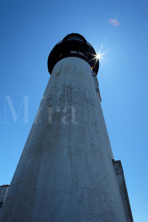 Yaquina Bay Lighthouse, Oregon, USA, North America
