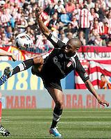 Granada's Yacine Brahimi during La Liga match.April 14,2013. (ALTERPHOTOS/Acero)