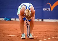 Amstelveen, Netherlands, 1 August 2020, NTC, National Tennis Center, National Tennis Championships,  Womans Final : Richel Hogenkamp (NED) is frustrated and shows her emotion<br /> Photo: Henk Koster/tennisimages.com