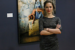 """FEATURES- Colombian Artist Evelin Velasquez Open of her solo Exhibit """"Transfigurations"""" in Stamford"""