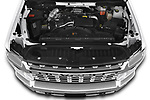 Car Stock 2020 Chevrolet Silverado-3500 LTZ 4 Door Pick-up Engine  high angle detail view