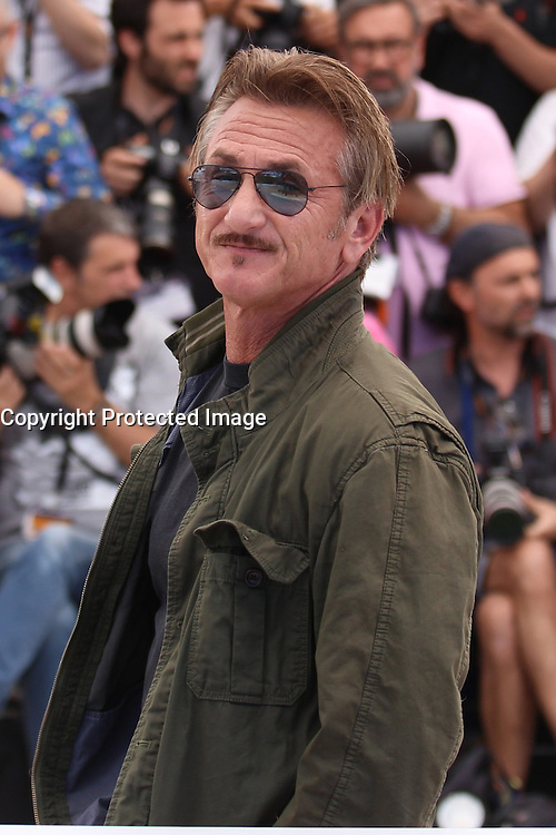 Sean PENN - 69E FESTIVAL DE CANNES 2016 - PHOTOCALL DU FILM 'THE LAST FACE'