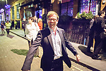 © Joel Goodman - 07973 332324  . 03/10/2011 . Manchester, UK . Conservative councillor MATTHEW SEPHTON arrives at a Gay Conservative fringe event in The Gay Village during the 2011 Conservative Party Conference at the Manchester Central Convention Centre (formerly GMex) . Photo credit: Joel Goodman