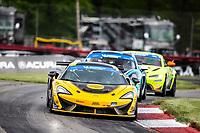 #13: AWA McLaren 570S GT4, GS: Orey Fidani, Kuno Wittmer