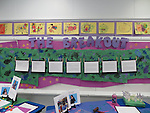 """These fifth-graders at J.P. Henderson ES spent the semester working on an art project about animals breaking out of the zoo. They call themselves """"The Girls Art Squad."""" These fifth-graders at J.P. Henderson ES spent the semester working on an art project about animals breaking out of the zoo. They call themselves """"The Girls Art Squad."""""""