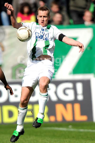 voetbal fc groningen - nac erediivisie seizoen 2007-2008 06-04-2008 .marnix kolder.fotograaf Jan Kanning