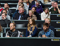 Rotterdam, The Netherlands. 13.02.2014. Andy Murray's Girlfriend Kim Sears at the ABN AMRO World tennis Tournament<br /> <br /> Photo:Tennisimages/Henk Koster