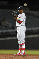 Peoria Javelinas pitcher Tyrell Jenkins (15) during an Arizona Fall League game against the Mesa Solar Sox on October 16, 2014 at Cubs Park in Mesa, Arizona.  Mesa defeated Peoria 6-2.  (Mike Janes/Four Seam Images)