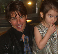 """SMG_EXC_Tom Cruise_Suri_Katie_BostonEats_100709_13.jpg_(EXCLUSIVE COVERAGE)<br /> <br /> EXCLUSIVE PICTURES JUST RELEASED ON 11/22/2009 - NEVER PUBLISHED OR SEEN PRIOR<br /> <br /> BOSTON, MA - NOVEMBER 07: (EXCLUSIVE COVERAGE) Tom Cruise,  daughter Suri, along with son Connor and wife Katie Holmes go out to a small cafe on the west side. The crusie family had a blast as the family enjoyed cafe and cake. Little Suri looked ablsolutely adorable as she played and picked at her dersert.  Tom is in Boston filming his new movie """"Wichita"""" alongside Cameron Diaz.   on November 07, 2009 in Boston, Massachusetts <br /> <br /> People:   Tom Cruise, Suri Cruise"""