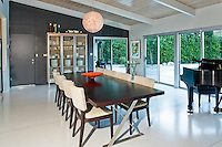 Stock photo of  mid-century home dining room