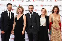 Monte-Carlo, Monaco, 16/06/2017 - 57th Monte-Carlo Television Festival Opening Ceremony Red Carpet. 'Candice Renoir' cast with Cécile Bois. # 57EME FESTIVAL DE LA TELEVISION DE MONTE-CARLO - RED CARPET OUVERTURE