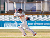 Ollie Robinson bats for Kent during Kent CCC vs Lancashire CCC, LV Insurance County Championship Group 3 Cricket at The Spitfire Ground on 24th April 2021