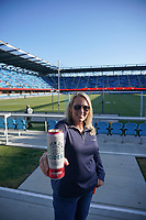 SAN JOSE, CA - MAY 22: Golden State Cider before a game between Sporting Kansas City and San Jose Earthquakes at PayPal Park on May 22, 2021 in San Jose, California.
