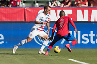 CARSON, CA - FEBRUARY 1: Chase Gasper #21 of the United States during a game between Costa Rica and USMNT at Dignity Health Sports Park on February 1, 2020 in Carson, California during a game between Costa Rica and USMNT at Dignity Health Sports Park on February 1, 2020 in Carson, California.