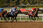 ARCADIA, CA  MARCH 6:  The start of the San Felipe Stakes (Grade ll) on March 6, 2021 at Santa Anita Park in Arcadia, CA.  (Photo by Casey Phillips/EclipseSportswire/CSM)