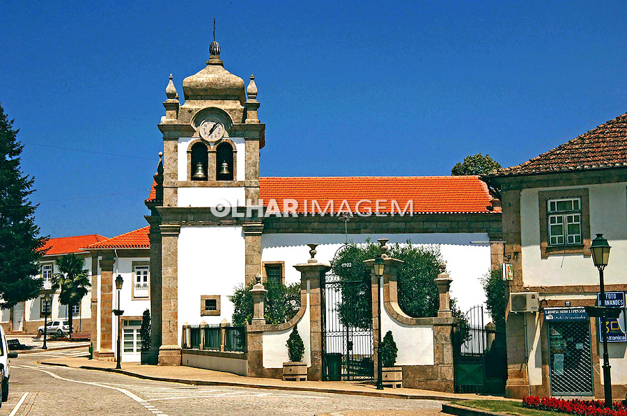 Igreja em Murça Trás-os-Montes. Portugal. 2005. Foto de Rogério Reis.