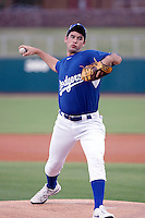 Zach Lee - AZL Dodgers - Lee, the Dodgers 1st round draft choice, is now working out with the AZL Dodgers at their training complex in Glendale, AZ - 08/26/2010.Photo by:  Bill Mitchell/Four Seam Images..