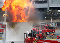Tokyo Metropolitan Fire Department holds New Year fire review