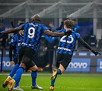 inter-juventus - Milano 17 gennaio 2021 - 18° giornata serie A - nella foto: barella segna il gol 2-0