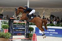 10th September 2021; Circo Massimo Stadium Rome, Italy; Longines Global Equestrian Champions Tour:   Mike Kawai