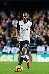 Geoffrey Kondogbia of Valencia CF in action during the La Liga 2017-18 match between Valencia CF and Villarreal CF at Estadio de Mestalla on 23 December 2017 in Valencia, Spain. Photo by Maria Jose Segovia Carmona / Power Sport Images